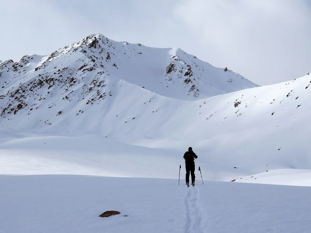 Exploring new areas for skiing and splitboarding