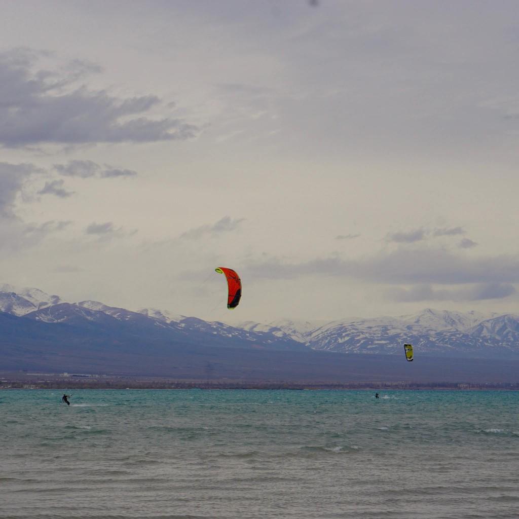 Ulan wind kitesurfing